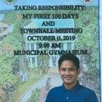 1st 100 days Report of Mayor Jaganie C. Rarang