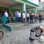 Disinfecting and Sanitizing the Anda Public Market